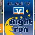 Ab sofort ist die Onlineanmeldung für den VOLKSBANKEN-Nightrun, der am 16. Mai 2015 stattfindet, freigeschaltet. Link zur Anmeldung: